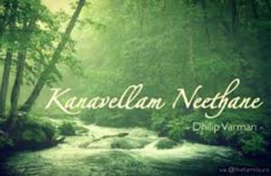 Kanavellam Neethane Song Lyrics