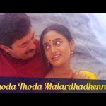 Thoda Thoda Malarndhadhenna Song Lyrics